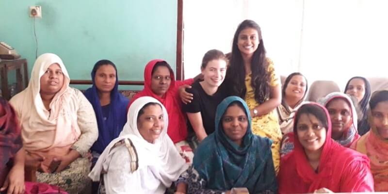 10 weken Sri Lanka Maike bij women empowerment project