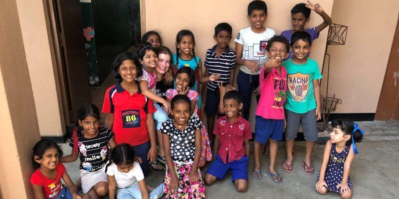 10 weken Sri Lanka kids