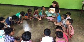 10 weken Sri Lanka leesklasje