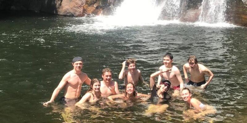 10 weken Sri Lanka waterval