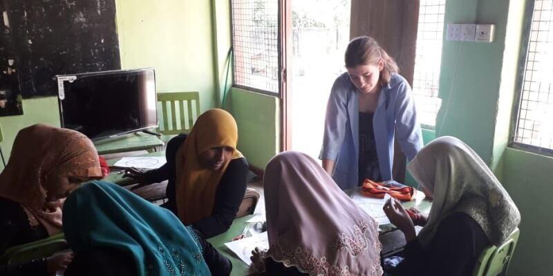 10 weken Sri Lanka women empowerment